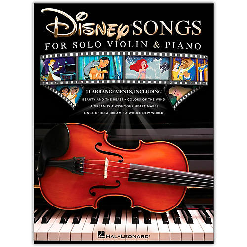 Hal Leonard Disney Songs for Solo Violin & Piano