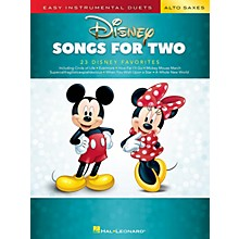 Hal Leonard Disney Songs for Two Alto Saxes - Easy Instrumental Duets Series Songbook