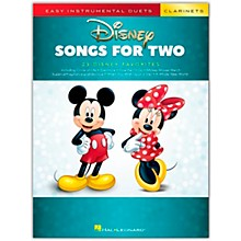 Hal Leonard Disney Songs for Two Clarinets - Easy Instrumental Duets Series Songbook