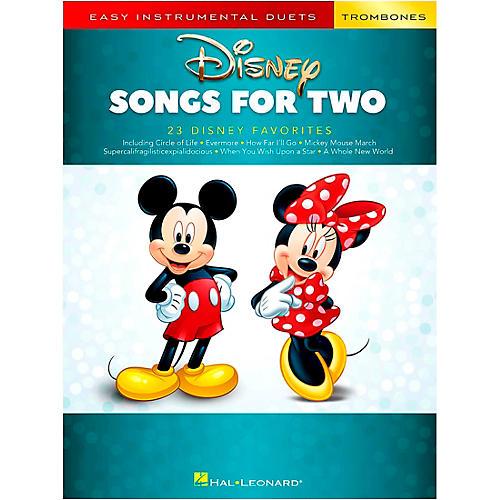 Hal Leonard Disney Songs for Two Trombones - Easy Instrumental Duets Series Songbook