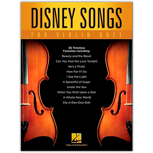 Hal Leonard Disney Songs for Violin Duet