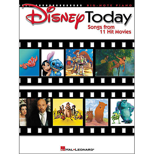 Hal Leonard Disney Today for Big Note Piano