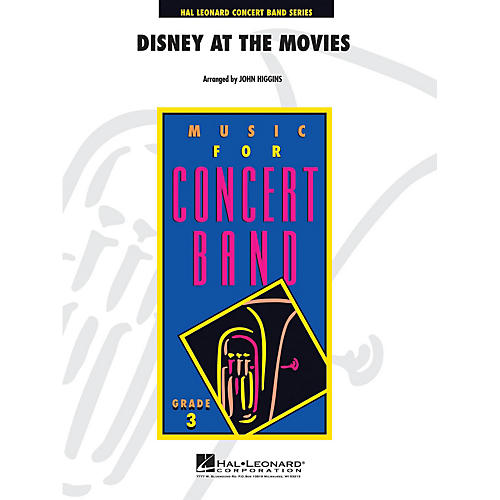 Hal Leonard Disney at the Movies - Young Concert Band Series Level 3 arranged by John Higgins