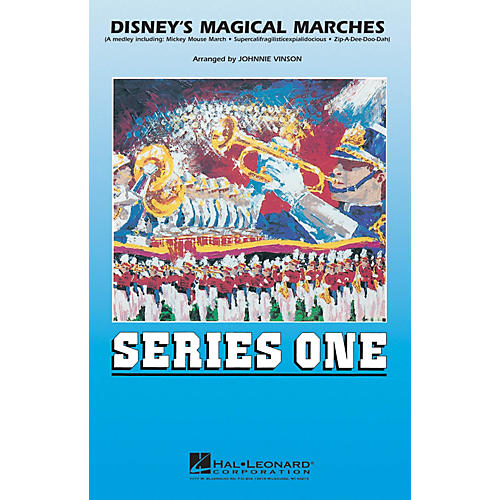 Hal Leonard Disney's Magical Marches Marching Band Level 2 Arranged by Johnnie Vinson