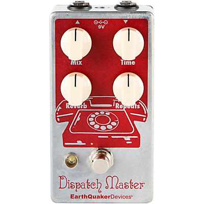Earthquaker Devices Dispatch Master V3 Digital Delay and Reverb Effects Pedal
