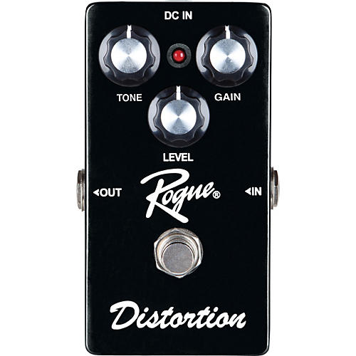 Rogue Distortion Guitar Effects Pedal