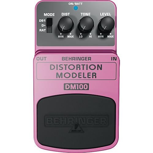 behringer distortion modeler dm100 guitar bass effects pedal musician 39 s friend. Black Bedroom Furniture Sets. Home Design Ideas