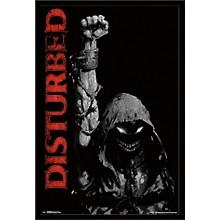 Disturbed - Fist Poster Framed Black