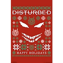 Trends International Disturbed - Ugly Xmas Sweater Poster
