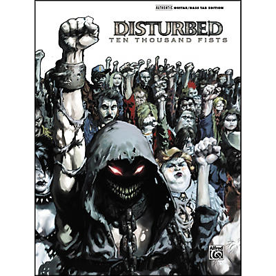 Alfred Disturbed 10000 Fists Guitar Tab Songbook