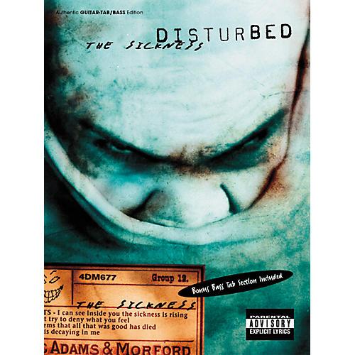 Hal Leonard Disturbed The Sickness Guitar & Bass Tab Book