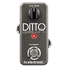 Open Box TC Electronic Ditto Looper Guitar Effects Pedal