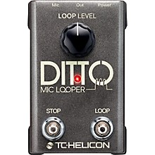 Open BoxTC Helicon Ditto Mic Looper Pedal