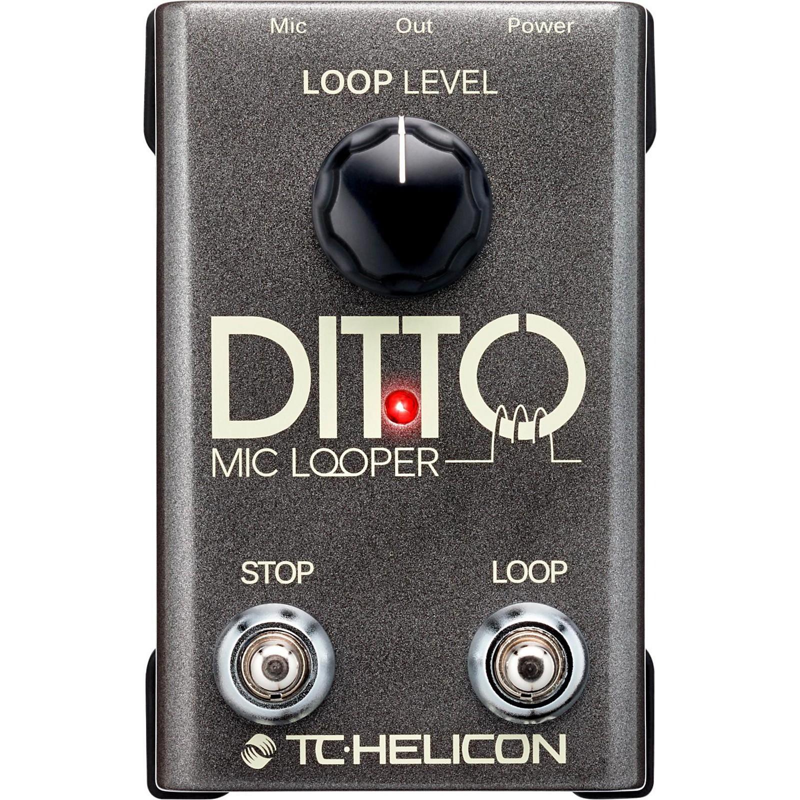 TC Helicon Ditto Mic Looper Pedal