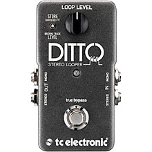 Open BoxTC Electronic Ditto Stereo Looper Guitar Effects Pedal