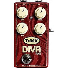 Open Box T-Rex Engineering Diva Overdrive Guitar Effects Pedal