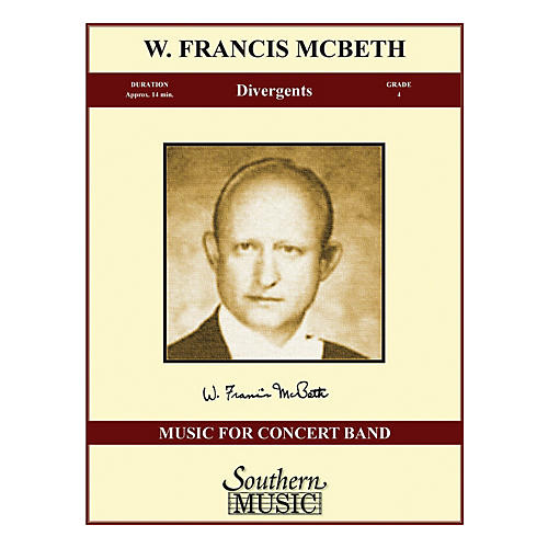 Southern Divergents (Band/Concert Band Music) Concert Band Level 4 Composed by W. Francis McBeth
