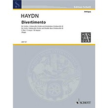 Schott Divertimento C Major (Set of Parts) Schott Series by Johann Michael Haydn Arranged by Eugen Rapp