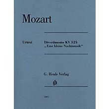 G. Henle Verlag Divertimento K525 Eine kleine Nachtmusik Henle Music Composed by Mozart Edited by Wolf-Dieter Seiffert