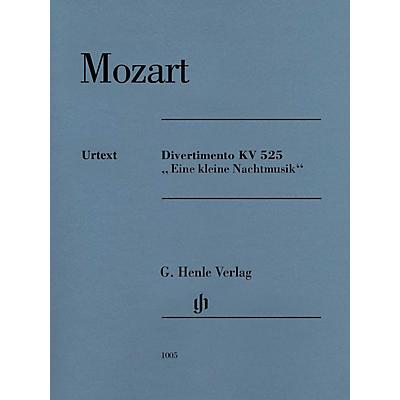 G. Henle Verlag Divertimento K525 Eine kleine Nachtmusik Henle Music by Mozart Edited by Wolf-Dieter Seiffert