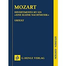 G. Henle Verlag Divertimento K525 Eine kleine Nachtmusik Henle Study Scores by Mozart Edited by Wolf-Dieter Seiffert