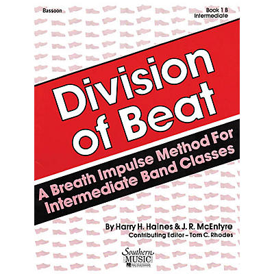 Southern Division of Beat (D.O.B.), Book 1B (Baritone B.C.) Southern Music Series Arranged by Tom Rhodes