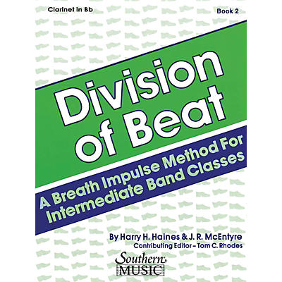 Southern Division of Beat (D.O.B.), Book 2 (Tuba/Bass) Southern Music Series Arranged by Rhodes, Tom