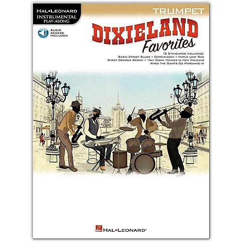 Hal Leonard Dixieland Favorites for Trumpet Instrumental Play-Along Book/Audio Online