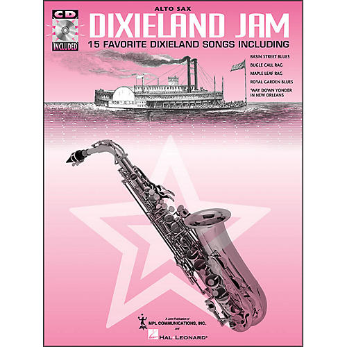 Hal Leonard Dixieland Jam - 15 Favorite Dixieland Songs for Alto Sax Book/CD Pkg