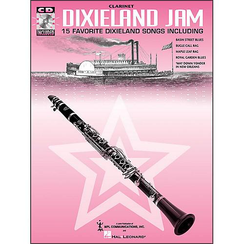 Hal Leonard Dixieland Jam - 15 Favorite Dixieland Songs for Clarinet Book/CD Pkg