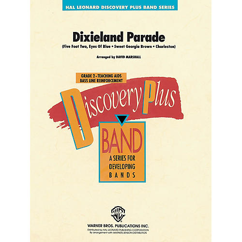 Hal Leonard Dixieland Parade - Discovery Plus Concert Band Series arranged by David Marshall