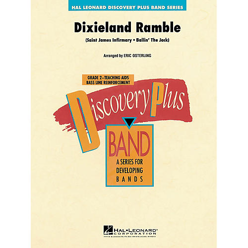 Hal Leonard Dixieland Ramble - Discovery Plus Concert Band Series Level 2 composed by Eric Osterling