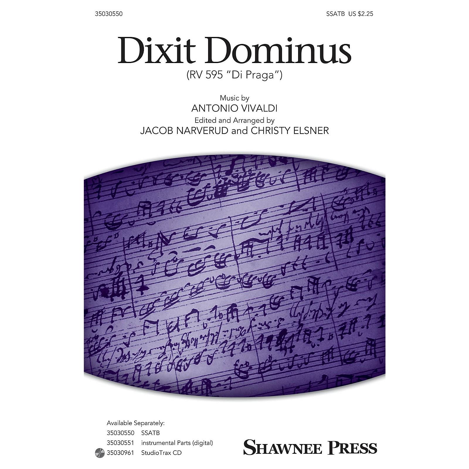 Shawnee Press Dixit Dominus (StudioTrax CD) Studiotrax CD Arranged by Jacob Narverud