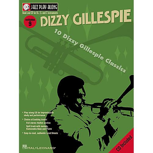 Hal Leonard Dizzy Gillespie - Jazz Play Along Volume 9 Book with CD