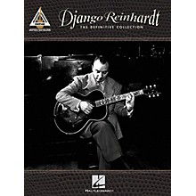 Hal Leonard Django Reinhardt - The Definitive Collection Guitar Tab Songbook