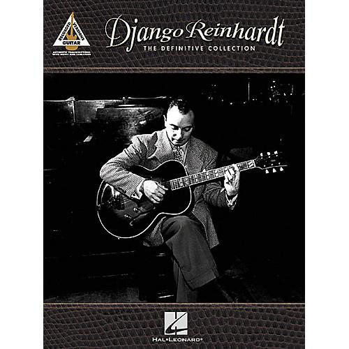 Hal Leonard Django Reinhardt - The Definitive Collection Guitar Tab Songbook