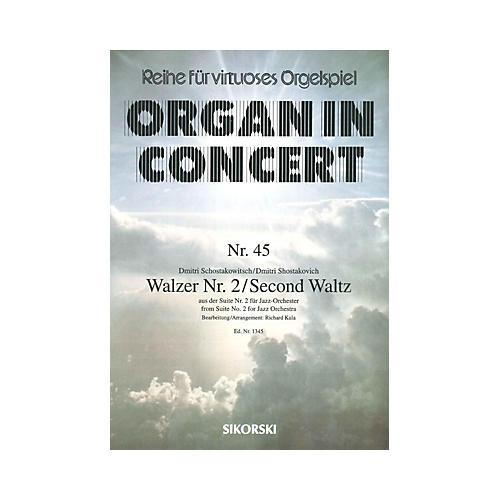 Sikorski Dmitri Shostakovich - Second Waltz Misc Series Composed by Dmitri Shostakovich