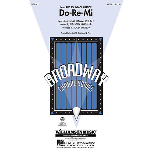 Hal Leonard Do-Re-Mi (from The Sound of Music) ShowTrax CD Arranged by Roger Emerson