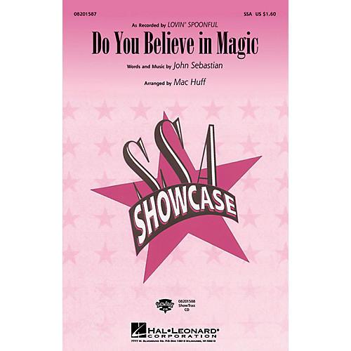 Hal Leonard Do You Believe in Magic ShowTrax CD Arranged by Mac Huff