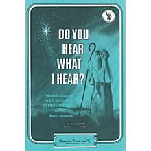 Shawnee Press Do You Hear What I Hear? SA Arranged by Harry Simeone