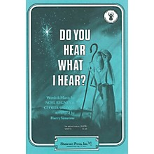 Shawnee Press Do You Hear What I Hear? SAB Arranged by Harry Simeone