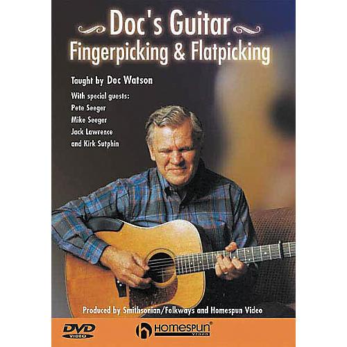 Homespun Doc Watson Fingerpicking and Flatpicking (DVD)