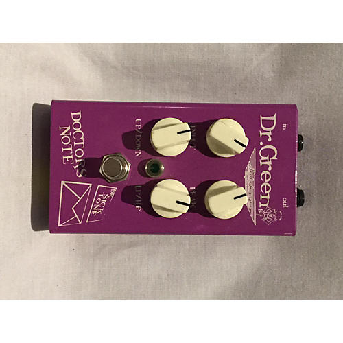 Dr. Green Doctors Note Effect Pedal