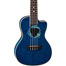 Luna Guitars Dolphin Concert Acoustic-Electric Ukulele