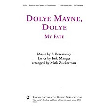 Transcontinental Music Dolye Mayne, Dolye (My Fate) SATB a cappella arranged by Mark Zuckerman