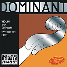 Dominant 4/4 Size Violin Strings 4/4 Set, Wound E String, Loop End, Silver D