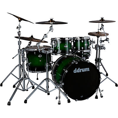 ddrum Dominion Birch 5-piece Shell Pack with Ash Veneer