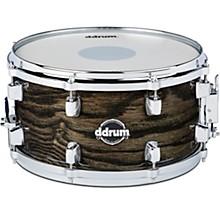 Dominion Birch Snare Drum with Ash Veneer 13 x 7 in. Transparent Black