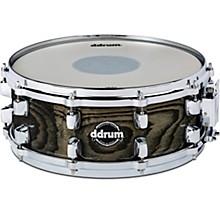 Dominion Birch Snare Drum with Ash Veneer 14 x 5.5 in. Transparent Black