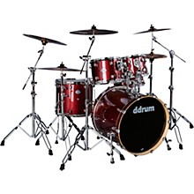 Dominion Series Birch 5-Piece Shell Pack Red Sparkle